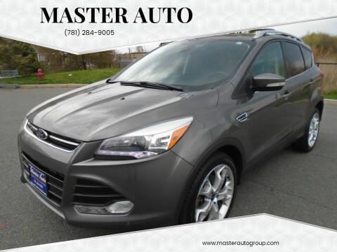 2013 Ford Escape for sale at Master Auto in Revere MA