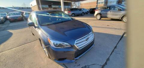 2015 Subaru Legacy for sale at Divine Auto Sales LLC in Omaha NE