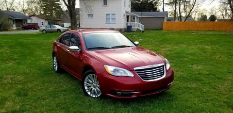 2011 Chrysler 200 for sale at Cleveland Avenue Autoworks in Columbus OH