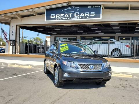 2011 Lexus RX 450h for sale at Great Cars in Sacramento CA