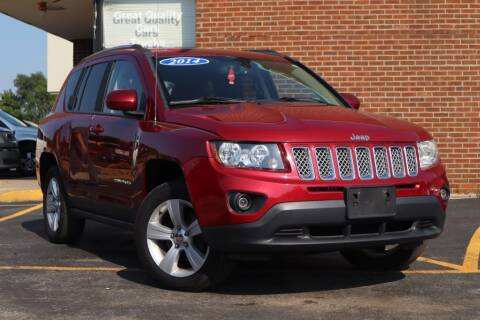 2014 Jeep Compass for sale at Hobart Auto Sales in Hobart IN