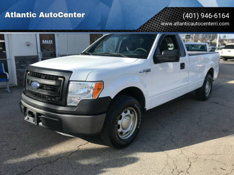 2013 Ford F-150 for sale at Atlantic AutoCenter in Cranston RI