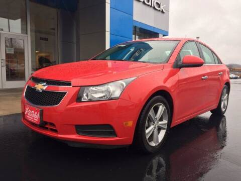 2014 Chevrolet Cruze for sale at Jones Chevrolet Buick Cadillac in Richland Center WI