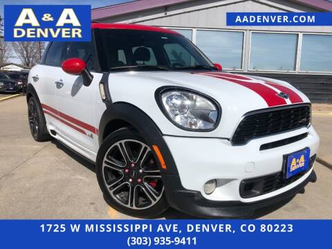 2013 MINI Countryman for sale at A & A AUTO LLC in Denver CO