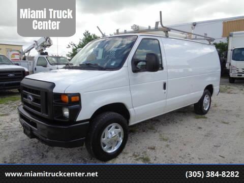 2012 Ford E-150 for sale at Miami Truck Center in Hialeah FL