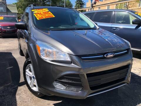 2016 Ford Escape for sale at Jeff Auto Sales INC in Chicago IL