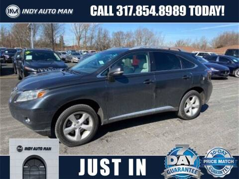 2010 Lexus RX 350 for sale at INDY AUTO MAN in Indianapolis IN