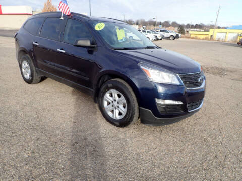 2017 Chevrolet Traverse for sale at Payday Motors in Wichita And Topeka KS