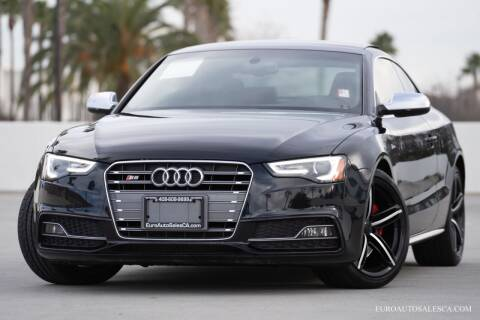 2013 Audi S5 for sale at Euro Auto Sales in Santa Clara CA