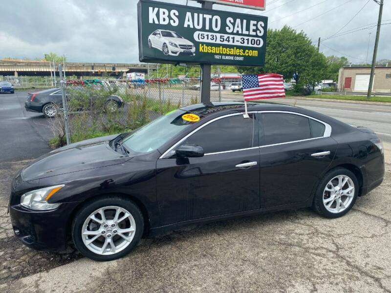 2013 Nissan Maxima for sale at KBS Auto Sales in Cincinnati OH