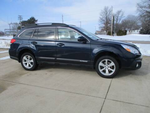 2014 Subaru Outback for sale at Crossroads Used Cars Inc. in Tremont IL