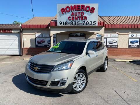 2013 Chevrolet Traverse for sale at Romeros Auto Center in Tulsa OK