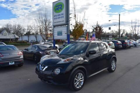 2015 Nissan JUKE for sale at Rite Ride Inc in Murfreesboro TN