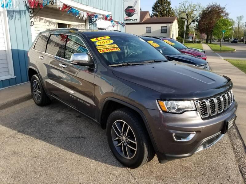 2017 Jeep Grand Cherokee for sale at CENTER AVENUE AUTO SALES in Brodhead WI