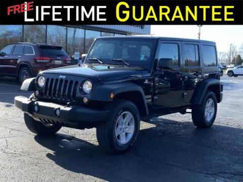 2018 Jeep Wrangler JK Unlimited for sale at Vicksburg Chrysler Dodge Jeep Ram in Vicksburg MI