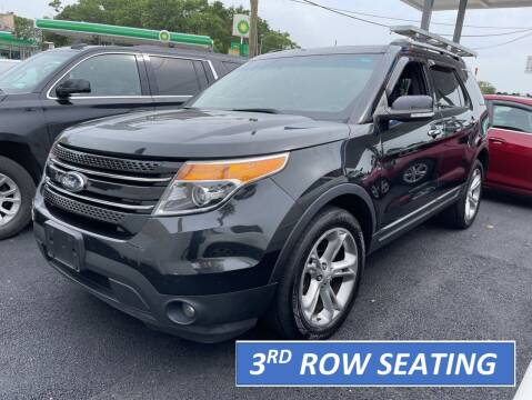 2014 Ford Explorer for sale at Cypress Motors of Ridgewood in Ridgewood NY