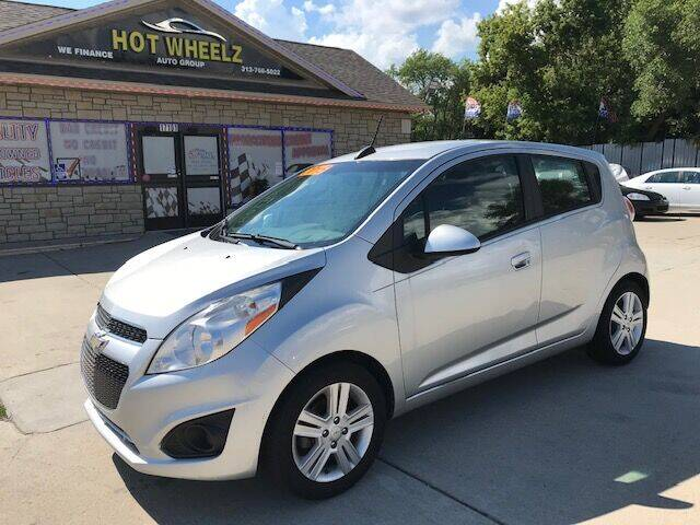 2015 Chevrolet Spark for sale at HotWheelz Auto Group in Detroit MI