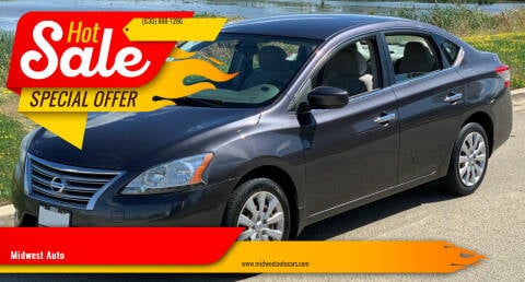 2013 Nissan Sentra for sale at Midwest Auto in Naperville IL