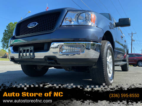 2004 Ford F-150 for sale at Auto Store of NC in Walkertown NC
