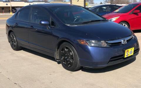 2008 Honda Civic for sale at El Tucanazo Auto Sales in Grand Island NE