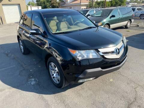 2008 Acura MDX for sale at 101 Auto Sales in Sacramento CA