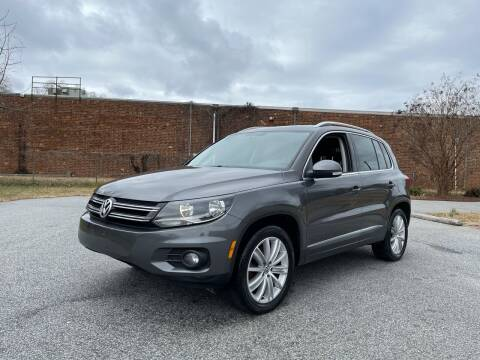 2012 Volkswagen Tiguan for sale at RoadLink Auto Sales in Greensboro NC