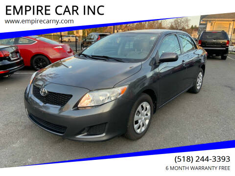 2010 Toyota Corolla for sale at EMPIRE CAR INC in Troy NY