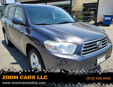 2010 Toyota Highlander for sale at ZOOM CARS LLC in Sylmar CA