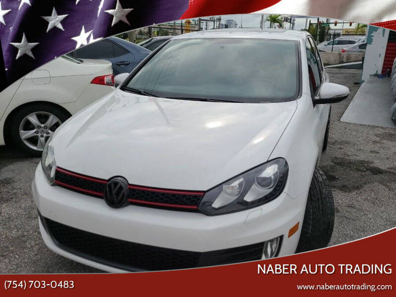 2014 Volkswagen GTI for sale at Naber Auto Trading in Hollywood FL