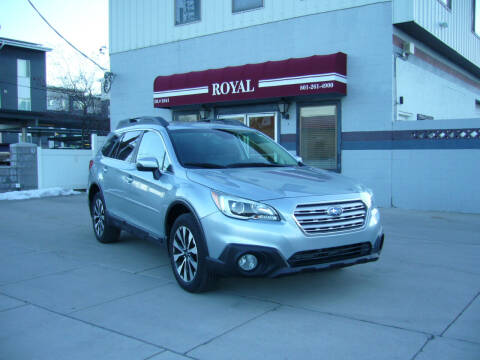 2017 Subaru Outback for sale at Royal Auto Inc in Murray UT