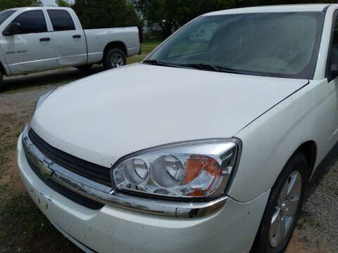 2004 Chevrolet Malibu Maxx for sale at C & R Auto Sales in Bowlegs OK