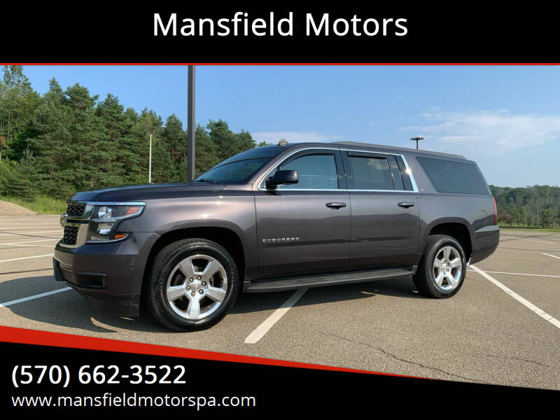 2015 Chevrolet Suburban for sale at Mansfield Motors in Mansfield PA