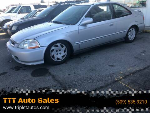 1997 Honda Civic for sale at TTT Auto Sales in Spokane WA