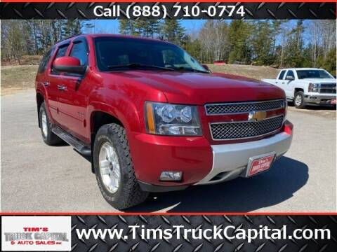 2012 Chevrolet Tahoe for sale at TTC AUTO OUTLET/TIM'S TRUCK CAPITAL & AUTO SALES INC ANNEX in Epsom NH