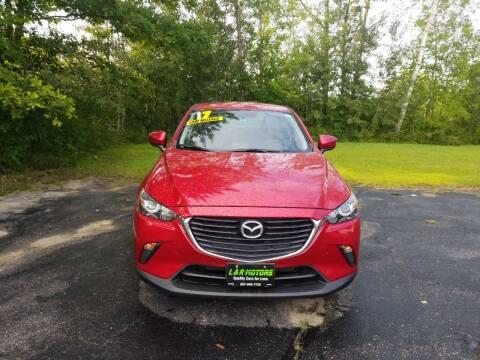 2017 Mazda CX-3 for sale at L & R Motors in Greene ME