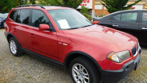 2004 BMW X3 for sale at M & M Auto Sales LLc in Olympia WA