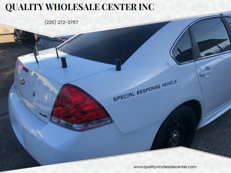 2013 Chevrolet Impala for sale at Quality Wholesale Center Inc in Baton Rouge LA