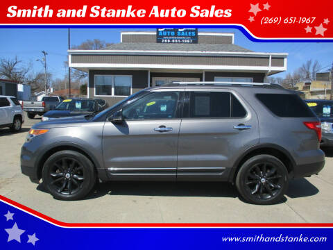 2013 Ford Explorer for sale at Smith and Stanke Auto Sales in Sturgis MI