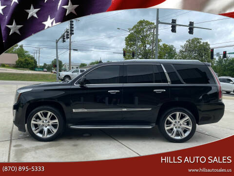 2015 Cadillac Escalade for sale at Hills Auto Sales in Salem AR