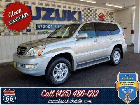 2004 Lexus GX 470 for sale at BROOKS BIDDLE AUTOMOTIVE in Bothell WA