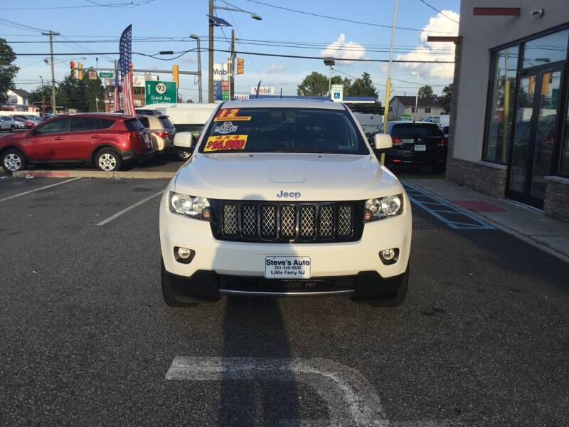 2012 Jeep Grand Cherokee for sale at Steves Auto Sales in Little Ferry NJ
