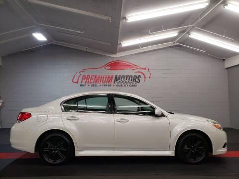 2010 Subaru Legacy for sale at Premium Motors in Villa Park IL