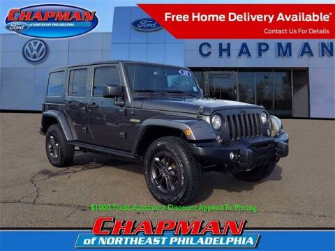 2018 Jeep Wrangler JK Unlimited for sale at CHAPMAN FORD NORTHEAST PHILADELPHIA in Philadelphia PA