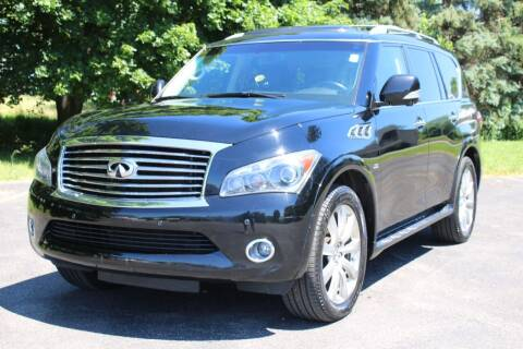 2014 Infiniti QX80 for sale at Great Lakes Classic Cars & Detail Shop in Hilton NY