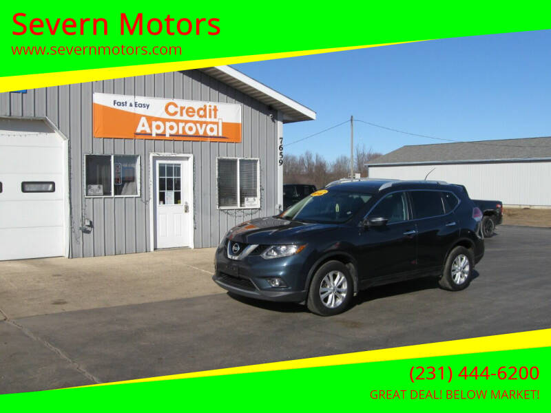 2015 Nissan Rogue for sale at Severn Motors in Cadillac MI