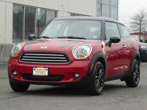 2013 MINI Paceman for sale at Loudoun Used Cars - LOUDOUN MOTOR CARS in Chantilly VA