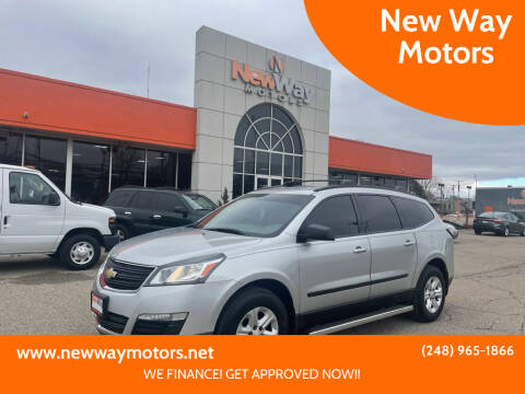 2013 Chevrolet Traverse for sale at New Way Motors in Ferndale MI