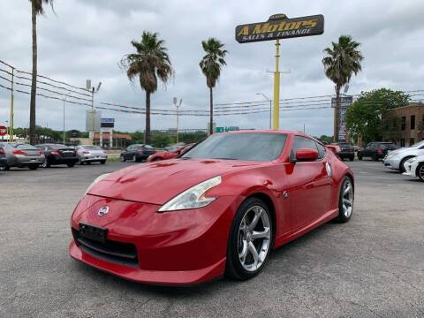 2010 Nissan 370Z for sale at A MOTORS SALES AND FINANCE in San Antonio TX