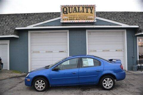 2005 Dodge Neon for sale at Quality Pre-Owned Automotive in Cuba MO