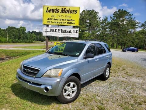 2006 Kia Sorento for sale at Lewis Motors LLC in Deridder LA